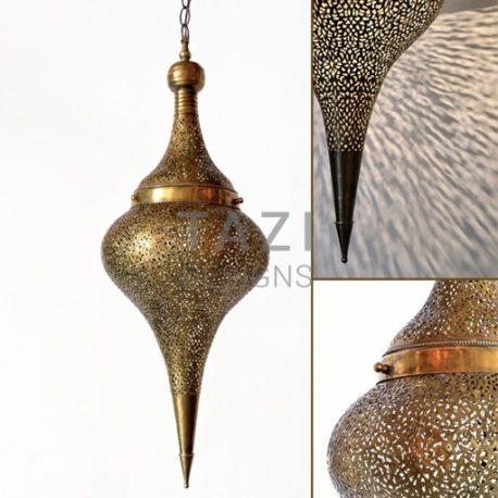 Elegant Moorish Hanging Lantern, Reina