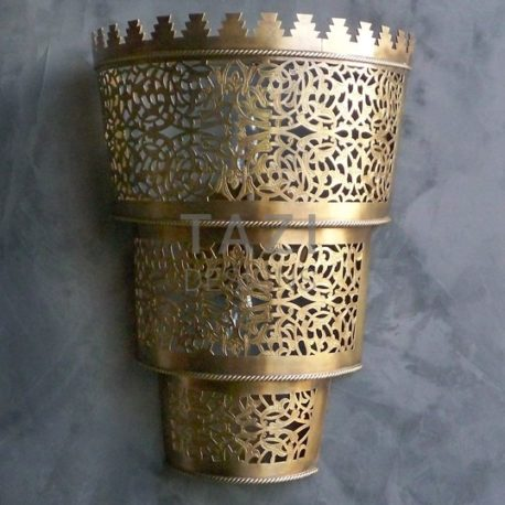 Moroccan Wall Sconce – Crown