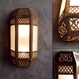 Moroccan Wall Sconce – Sine