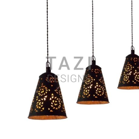 Rustic Metal Bar Pendant Lights