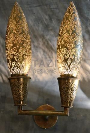 Moroccan Sconce – Deux Flammes