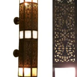 Moroccan Elongated Wall Sconce Large