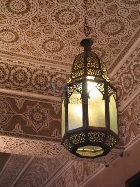 Moroccan Hanging Lamp, Batoul Large