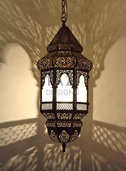 Moorish Lighting Fixture Ammouna 2 Tazi Designs