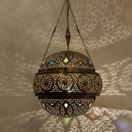 Brass Moroccan Lantern – Meteora