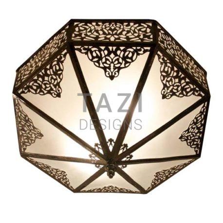 Mediterranean Ceiling Fixture – Dark Bronze