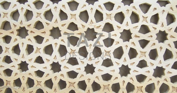 Arabesque Wood Screen