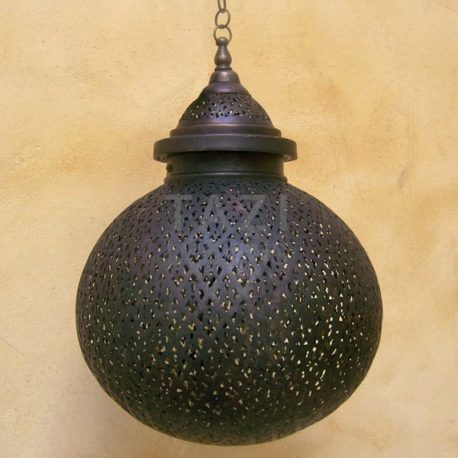 Bronze Moroccan Pendant Light