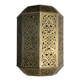 Moorish Brass Wall Sconce