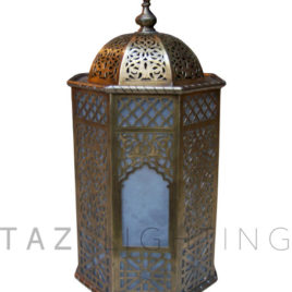 Moroccan Brass Lantern – Amalfy