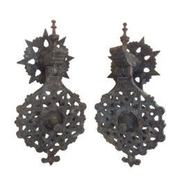 Moroccan Bronze Door Knockers