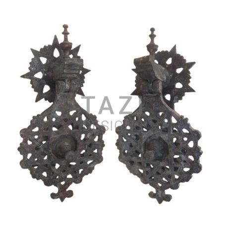 Moroccan Bronze Door Knockers