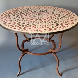 40″ Moroccan Mosaic Table