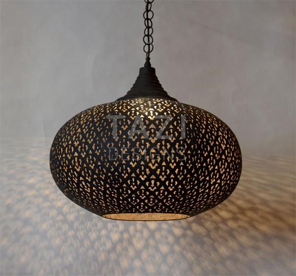 Modern Moroccan Pendant Light Dahon Tazi Designs