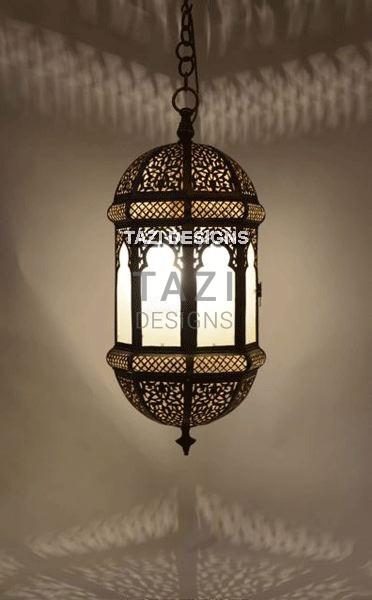 Moorish Entryway Lantern 22