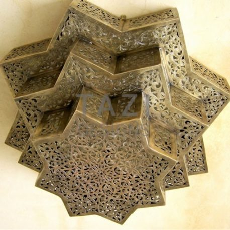 Ceiling fixture – Moroccan Star 2
