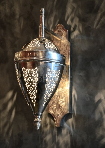 Moroccan Wall Sconce – Amadeo