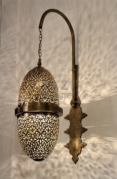 Moroccan Wall Sconce – Oblong Egg