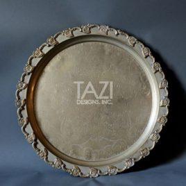 Vintage Moroccan Tray 24