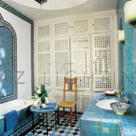 Moroccan zellij tile – Yves St Laurent in Marrakech