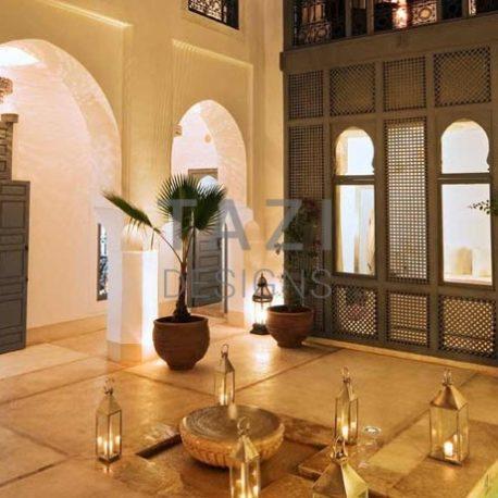 Mousharabi wood panel – Riad Adore