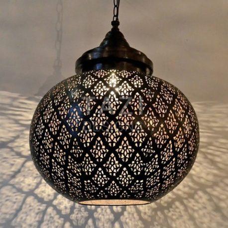 Modern Moroccan Pendant Light – Dahon Sphere