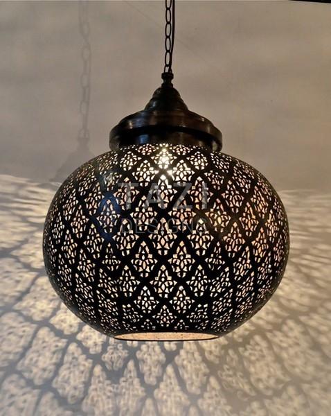 Modern Moroccan Pendant Light Dahon Sphere