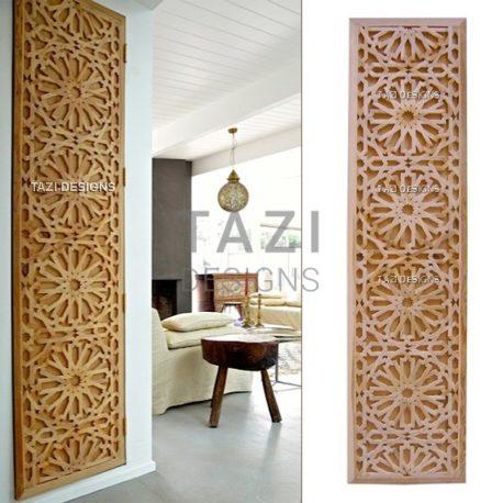 Moroccan Lattice Woodwork – Tastir Inlaid Panel