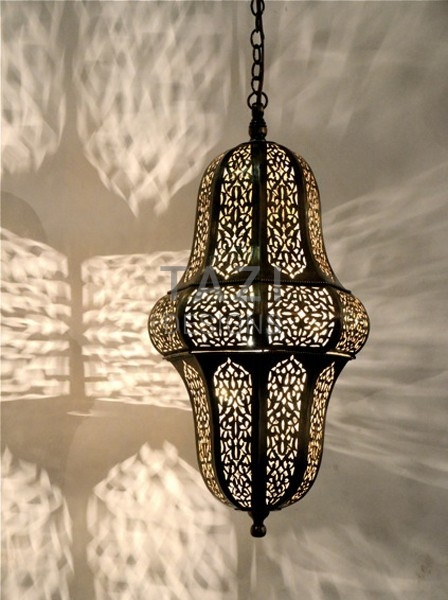 Moroccan Pendant Light Peanut Tazi Designs