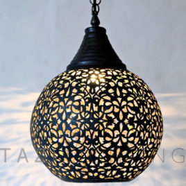Dark Bronze Sphere Light