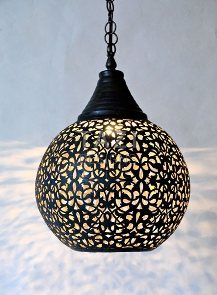 Dark Bronze Sphere Light