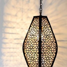 Moroccan Pendant Light – Tastir Dark