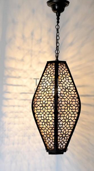 Moroccan Pendant Light – Tastir Dark