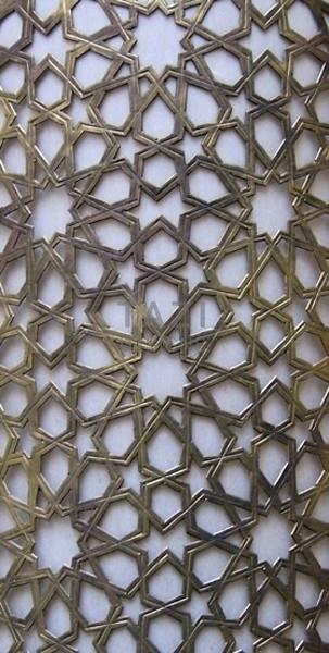 Moorish Brass Grill – Star