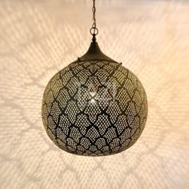 Moroccan Modern Sphere Light – Azhar
