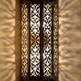 Indoor Outdoor Wall Sconce, Vine
