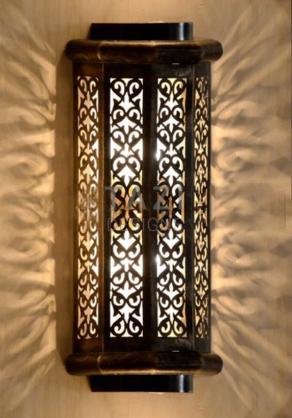 Indoor Outdoor Wall Sconce Vine Tazi Designs