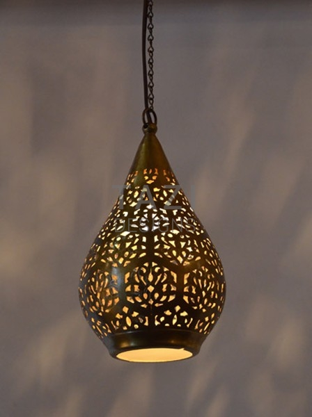 Contemporary Moroccan Pendant Light, Linna