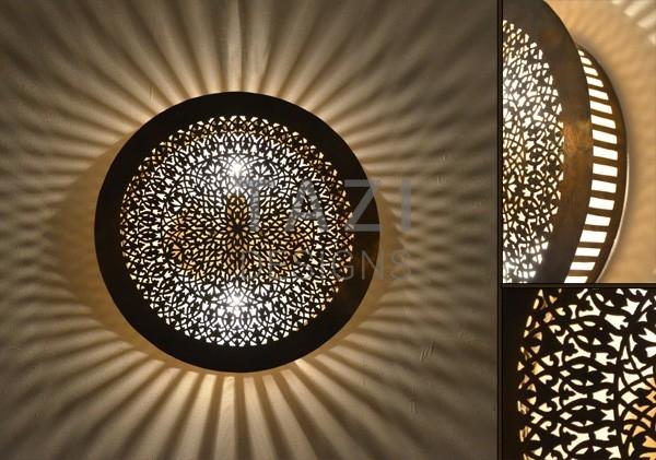 Round Ceiling Light – Tazi Designs