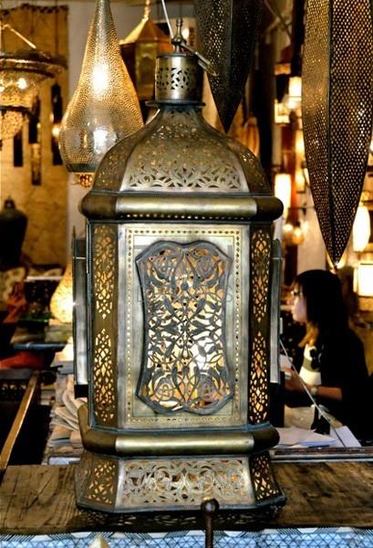 Unique Vintage Moroccan Lantern, Fez