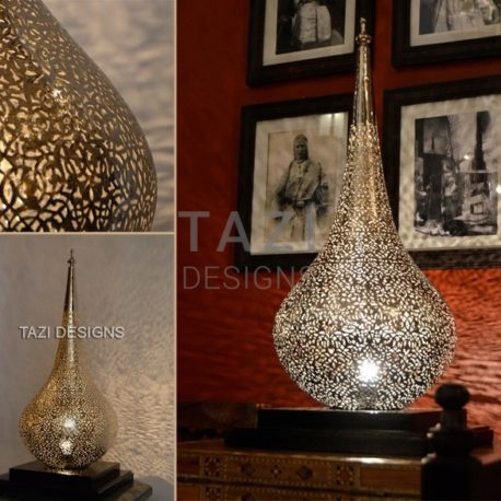 Moroccan Table Lamp – Flame