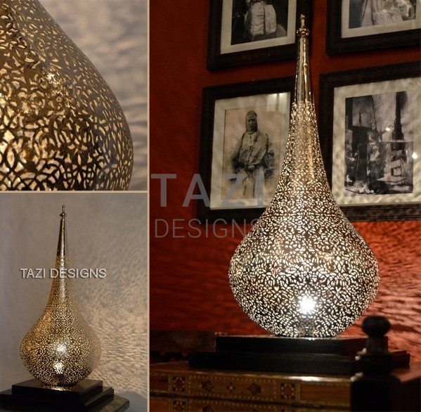 Moroccan Table Lamp U2013 Flame