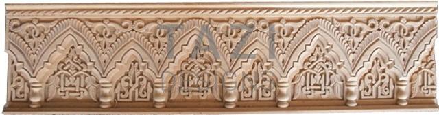 Moorish Design Custom Carved Wood 1