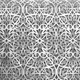 Brass Lattice Nickel Screen