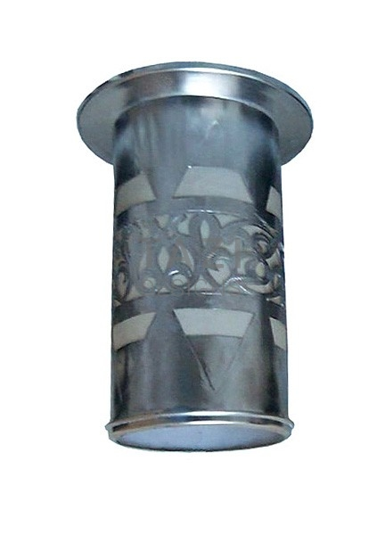 Ceiling Spot Light Shade, Ziya silver