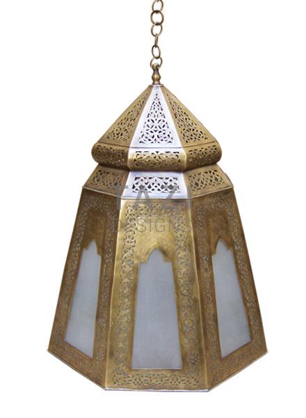 Brass Moroccan Hanging Light – Ruwa