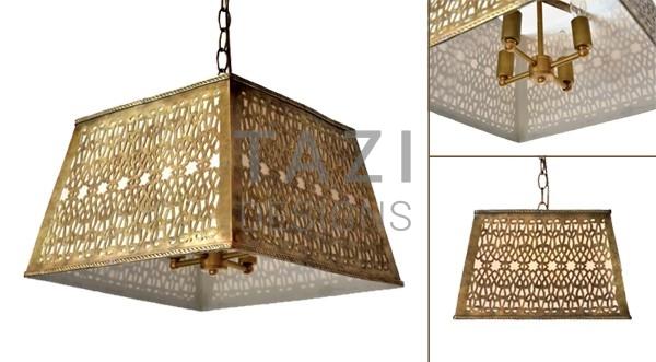 Contemporary Moroccan Light -Square
