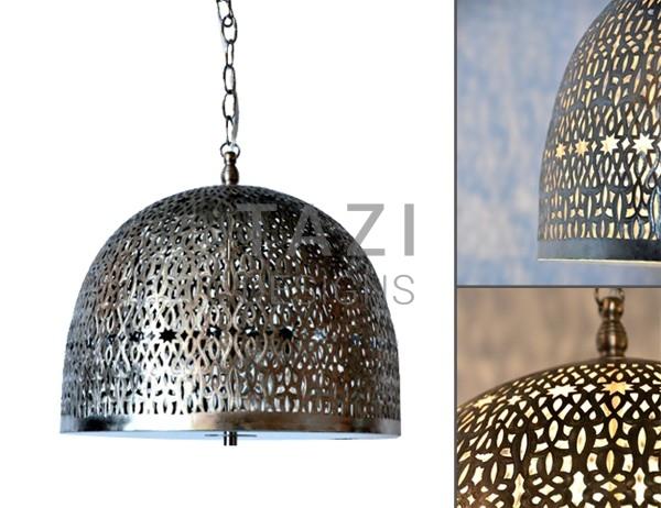 Moroccan pendant light aaliyah brushed nickel tazi designs moroccan pendant light aaliyah brushed nickel aloadofball Gallery