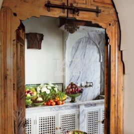 Moroccan Door Kitchen Design