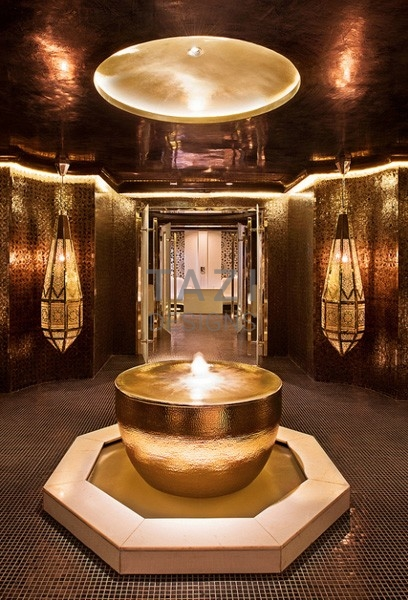 Luxury Moorish Spa Interior Tazi Designs
